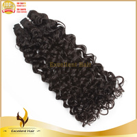 New arrival 2015 natural color cheap brazilian hair weaving different types of curly weave hair