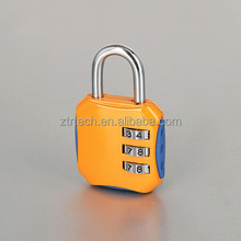 Fashion 3 Digital TSA Luggage Lock Combination Lock with Custom Logo