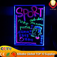 2016 alibaba express hot sale & lower price super bright & catching eyes shops advertising panel cheap price led writing board
