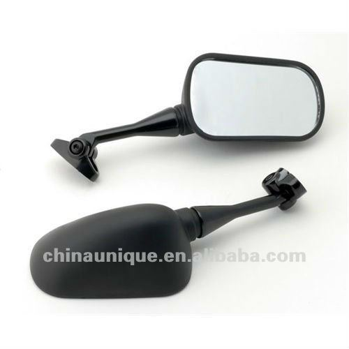 integrated universal motorcycle side mirrors