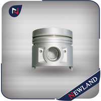 Custom motorcycle piston for Honda CG125 CG150 CG200 piston
