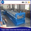 Galvanized Steel Floor Tile Making Machine/ Floor Deck Rolling Forming Line Deck Metal Floor Tile Glazing Machine