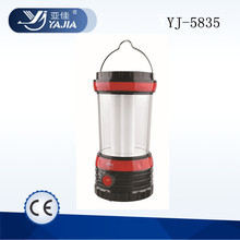 YUYAO YAJIA YJ-5835 LED solar bright camping lantern with rechargeable batteries