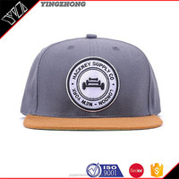 Wholesale Custom 6 Panel Fitted Fitted Hat Snap Back Design your Own Logo