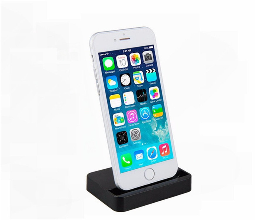 Usb Sync Data Charger Gunung Stand Docking Station Dock Cradle charger Universal Untuk iPhone 8X7 6 6 s ditambah 6
