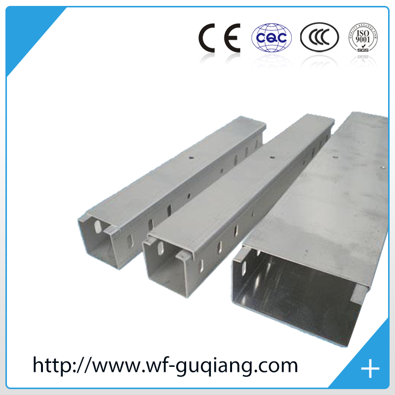 Electrical cable support system hot dip galvanised cable tray china manufacturer