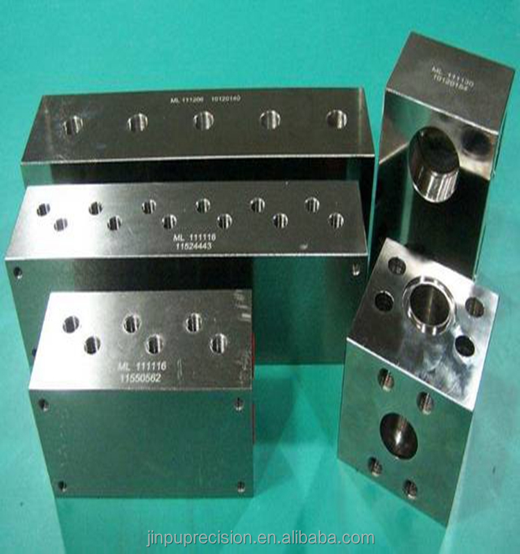 High precision custoim cnc machining hydraulic manifold blocks for agricultural machine