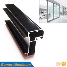powder coating anodized office partition frame aluminum profiling supplier stock oem design