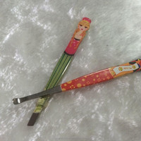 High Quality Slant Tip Eyebrow Tweezers