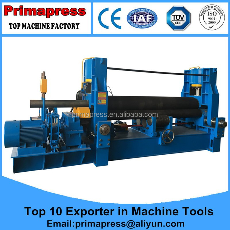 China supplier <strong>W11</strong> model pre-bending cnc iron rolling machine cost
