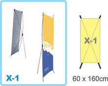Display - Stand Banner - X-1