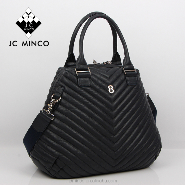 China original guangzhou designer handbag goat leather quilted desigual handbag unique ladies handbag