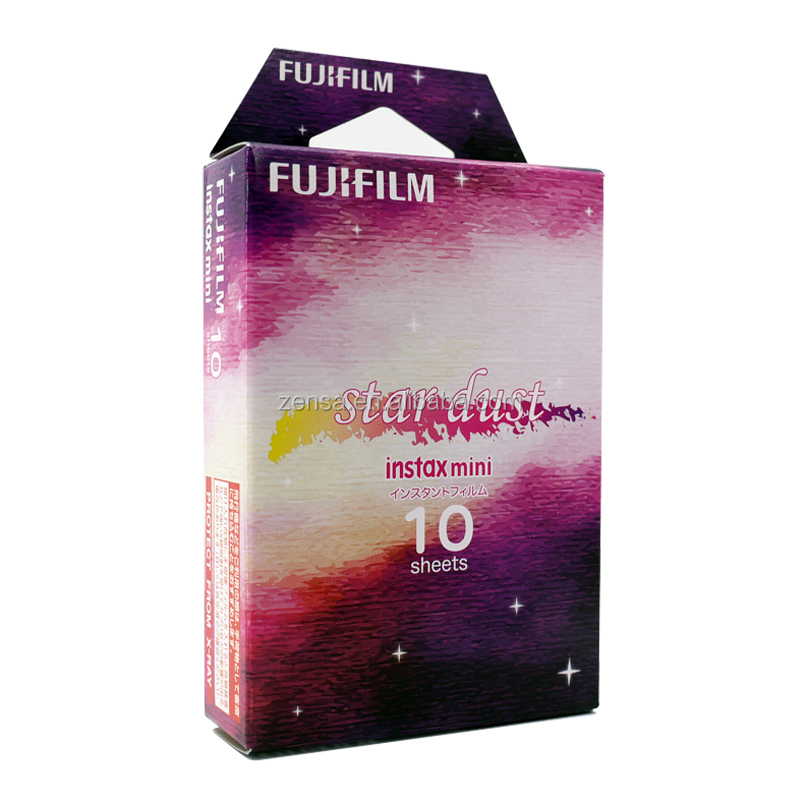 New Fujifilm Instax Mini Instant Photo Film - Star Dust