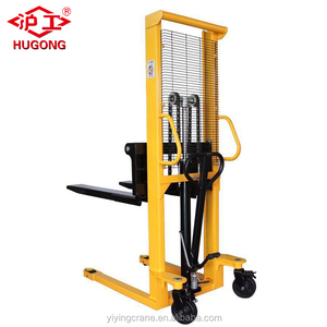 HUGO new forklift 2 ton manual pallet stacker