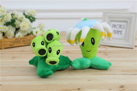 Fashion lovely funny adorable plush toy plants vs zombies plush toy plants stuffed toy
