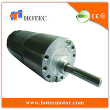 high torque customized 30mm DC 12V 24V 10 rpm gear motor