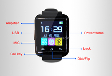 2015 New Smartwatch A9 Bluetooth Smart watch for Apple iPhone & Samsung Android Phone relogio inteligente reloj smartphone watch