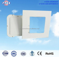 24w led panel light spare parts 12 inch aluminum alloy square utility and wilely used for high-end interior lighting lamps