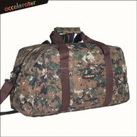"20"" camo design travel duffle bag light weight carry bag sport bag"