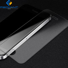 9H Hardness 2.5D 0.33mm Anti-glare Oleophobic Coating Ultra Clear Tempered Glass Screen Protector for iPhone 5 5s 5c