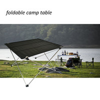 (3165) High Quality Easy Carrying Camping Folding Mini Table with Meatl Frame