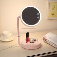 LED Makeup Mirror lamp cordless led lighted desktop mirror
