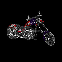 Wholesale Custom Motorcycle sports Made in korean lead free Rhinestones