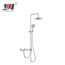 Instant hot water outdoor garden rv power electric stand up luxury lower price bathroom muslim thermostatic shower in pakistan