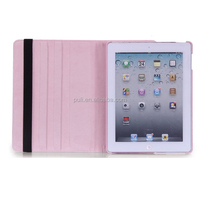 Case for iPad PU 360 flip leather tablet case pouch for iPad1234