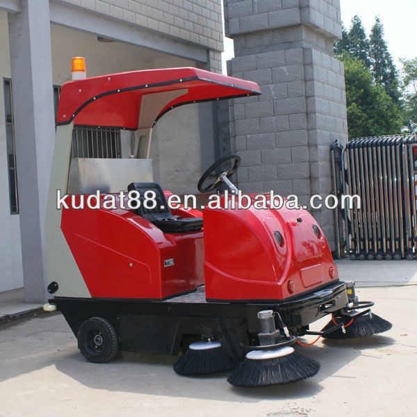 kudat automatic cleaning streets of korea,electric sweeper with power broom,vacuum sidewalk sweeper share parts for sale