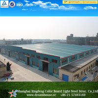 prefabricated industrial building warehouse/light steel structure warehouse plan