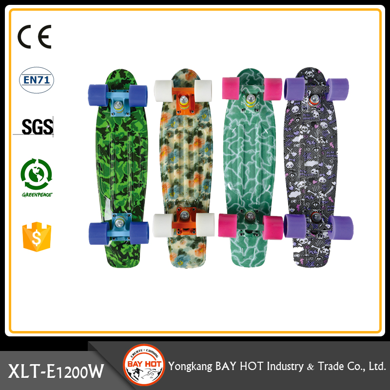 Safety and sanitary Wholesale cheap plastic skateboard mini cruiser