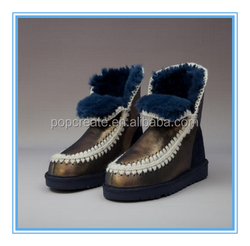 2015 the fashion trend style snow boots