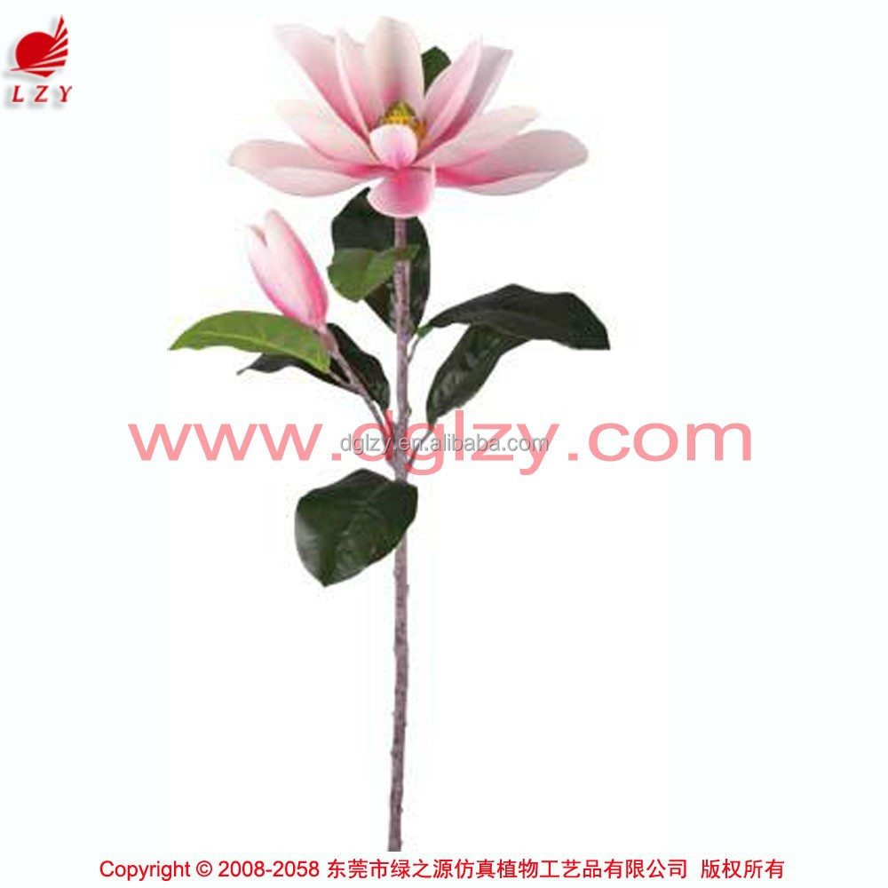 Artificial single magnolia flowers real touch flowers decorative magnilia flower