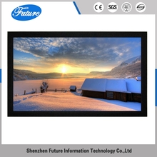 2017 customize ISO fixed frame projector screen