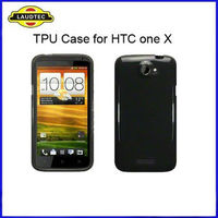 2013 Hot Selling Solid color shinny tpu gel wave case cover for HTC ONE X G23 S720E