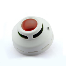 Home security electric smoke detector warning light sound alarm