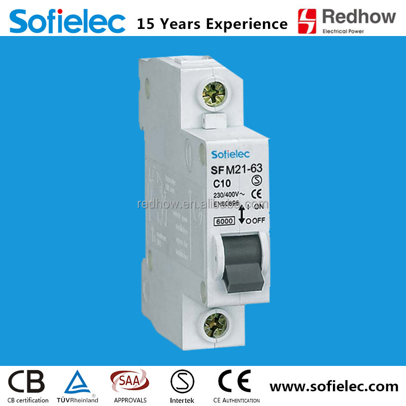 provide cheap price of DZ47 C45 mcb circuit breaker CE approval