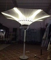 latest 3M/3.5M colorful garden patio outdoor umbrella with led light