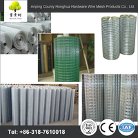 "high quality 1/4""pvc coated welded wire mesh"