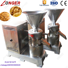 Commercial Peanut Butter Making Colloid Mill Hummus Grinder Machine For Sale