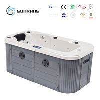 Hot sale 1 person freestanding person mini indoor hot tub
