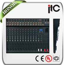 ITC TS-16P-4 Series Magic Music Internal DSP 21 Kinds Effect DJ Mixer Controller
