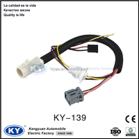 Electrical Auto amp motorcycle Vehicle female to male car wiring harness