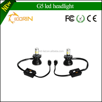 OEM Custom Waterproof Brightest 3000K 6000K 8000K 4000LM 12V Auto h1 h13 h7h119004 9005 5202 h4 led headlight