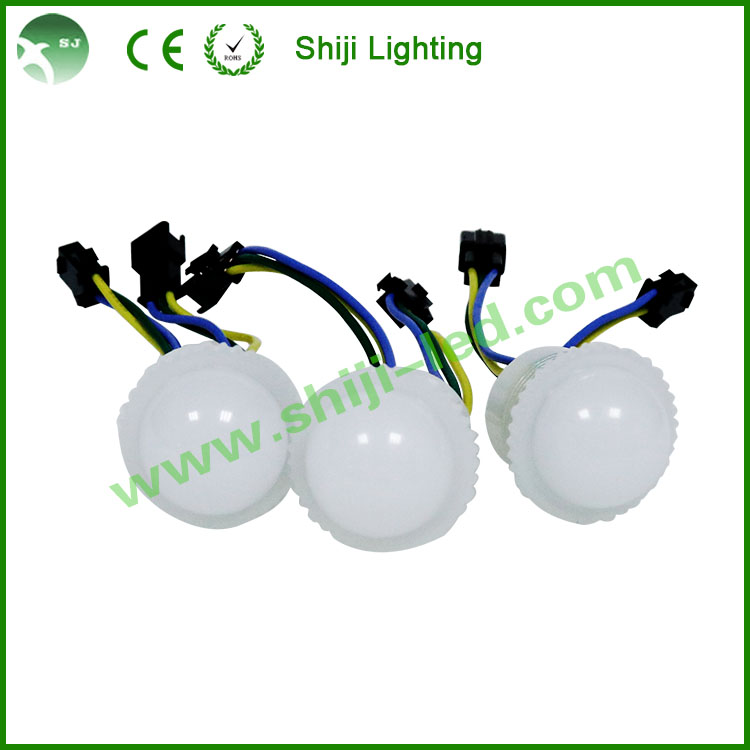 Amusement outdoor decorative 5050 led 38mm ws2811 led pixel light