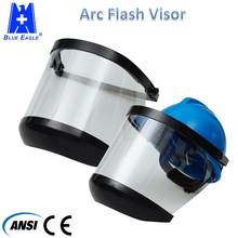 PPE Arc Flash Protection Face Shield Clear Helmet Visor