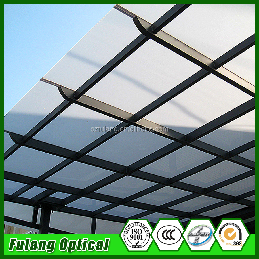 New Wholesale special double layer price polycarbonate sheets