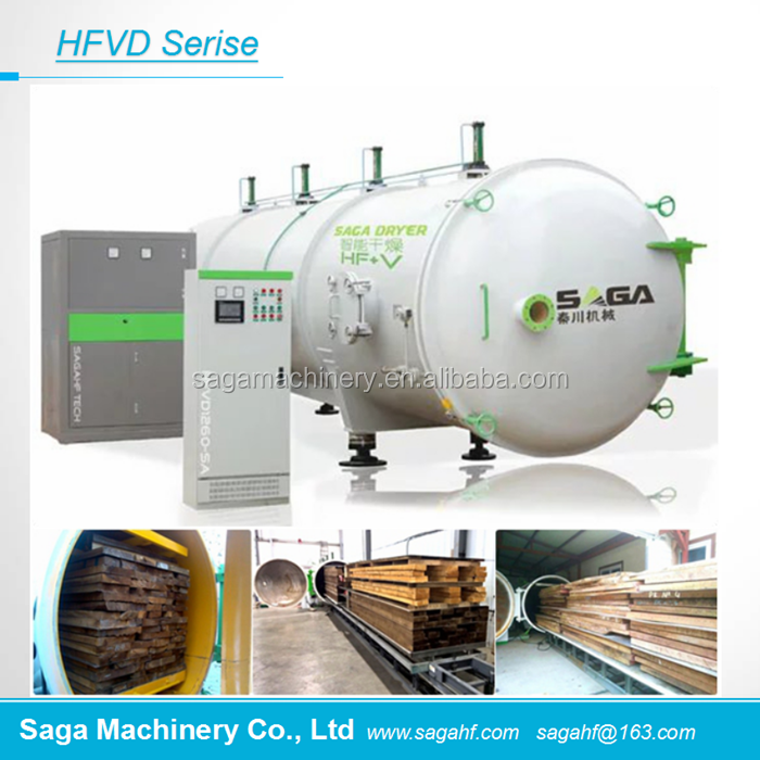 Saga HF Vacuum Dryer Chambers For Drying <strong>Wood</strong> HFVD60-SA
