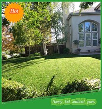 Super quality synthetic lawn fake grass carpet for front yard